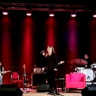 Veronika Fischer & Band Foto: Mario Wollny Probe im Marstall Wernigerode 2017